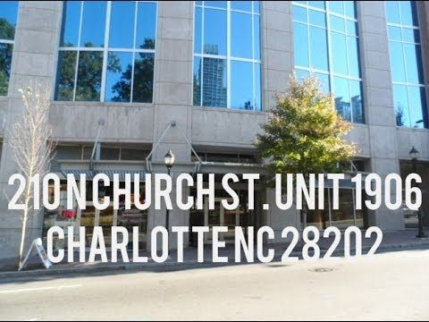 """http://www.showcaserealty.net/property/2193425/ -  210 N Church St. Unit 1906 Charlotte NC 28202. Gorgeous Highly desired condo located on the 19th floor! Perfect """"Uptown Getaway"""". Featuring floor to ceiling windows, granite counters, hardwood floors, ceramic tile, and an excellent view! This 1 bedroom floor plan is located in the Avenue! The Avenue building includes a heated pool, outdoor grilling and fireplace, movie theater and 24 hour concierge. Enjoy sunsets from your balcony. A must…"""