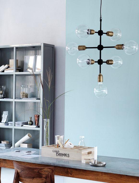 Popular Diese gro e Leuchte springt sofort ins Auge Designlampe Molekular von HouseDoctor HOUSE DOCTOR