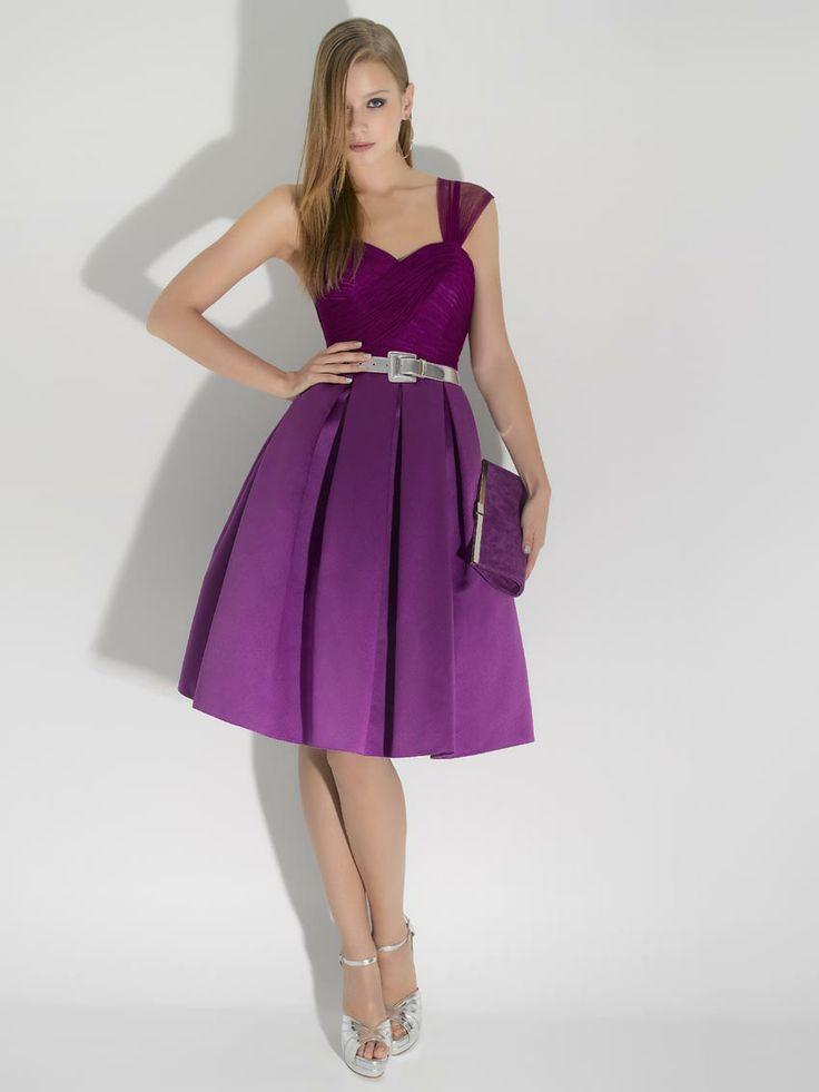 Mejores 68 imágenes de Purple Dresses en Pinterest | Vestido morado ...