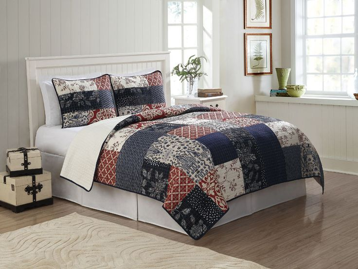 Great For A Master Or Guest Bedroom American Traditions Whitfield Quilt Set Quilts