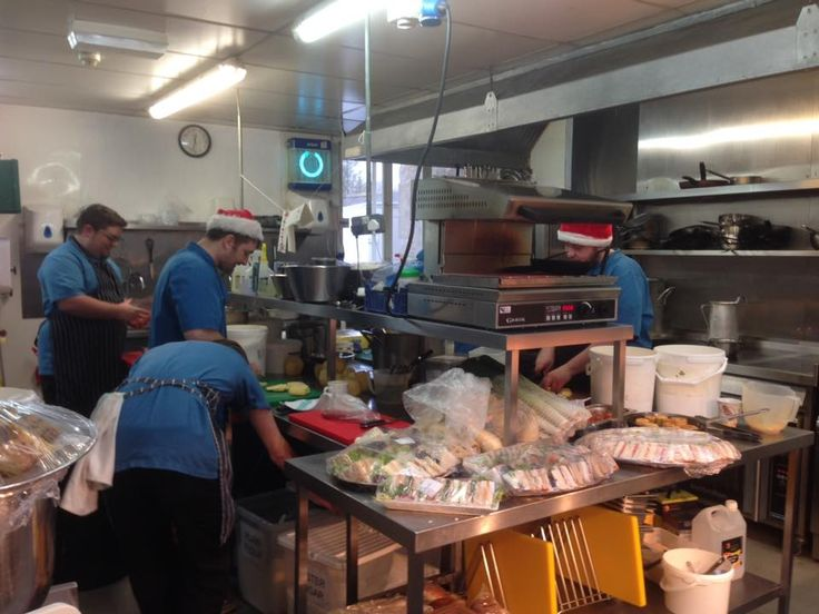 Santa's elves work almost as hard as the chefs at The Speech House Hotel