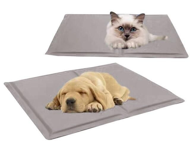 Dog Cooling Mat Pet Ice Pad Teddy Mattress Pet Cool Mat Bed Cat Cushion Summer Keep Cool Pet Gel Cooling Dog M Pet Watching Dog Cooling Mat Cool Pets