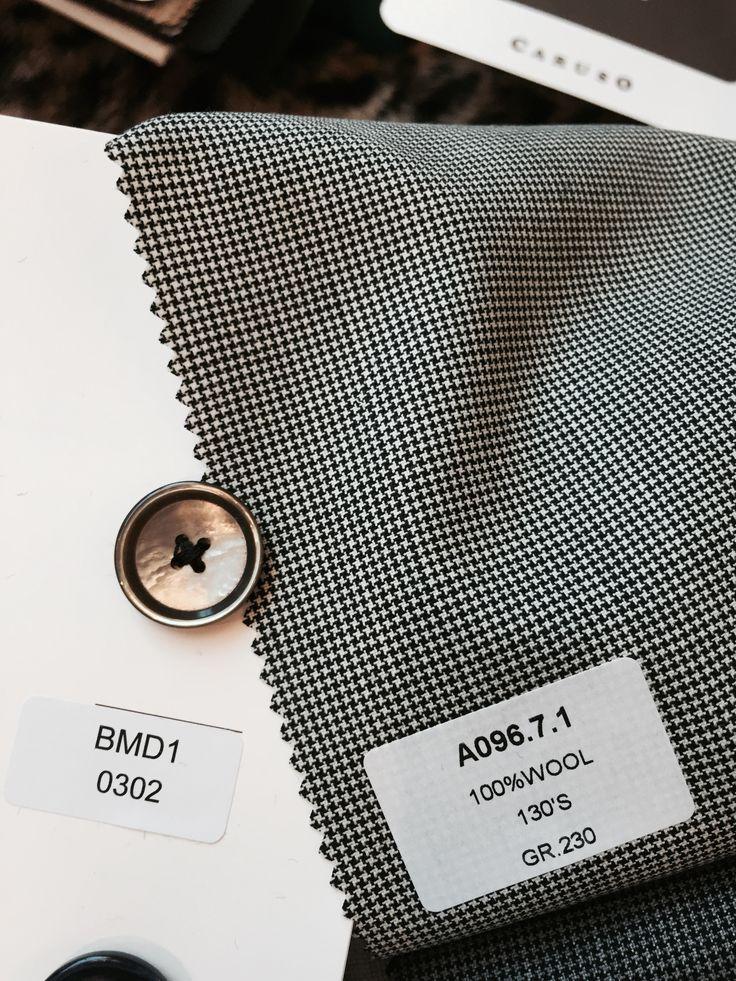 fabrics for our su misura suits Caruso...
