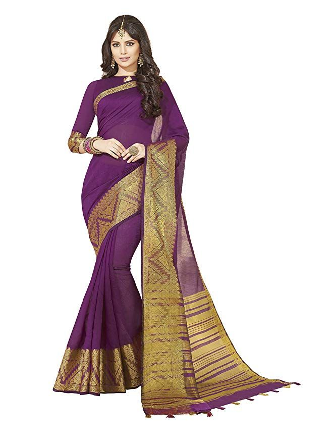 2b8773de68 Keep ahead in fashion with this chanderi silk Saree With Woven Zari work  border.This