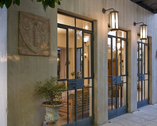 14 best black patio doors images - Black metal french doors exterior ...