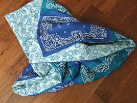 Bandana Quilt with instructions!!