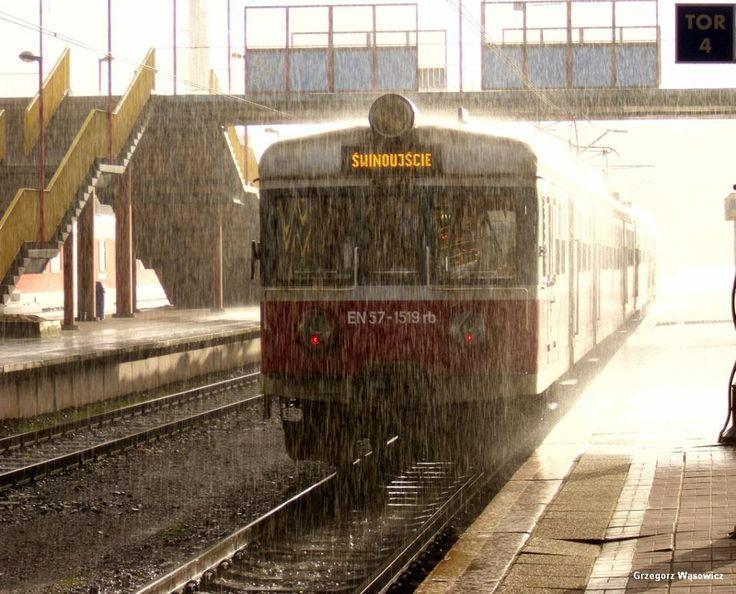 W deszczu strugach fot. Grzegorz Wąsowicz