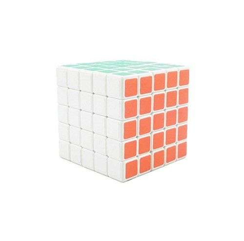 Shengshou Plastic 5x5x5 Speed Puzzle Rubik's Cube White Sunny Hill Cubes http://www.amazon.com/dp/B01C8KFN10/ref=cm_sw_r_pi_dp_bS58wb0WA8VKW