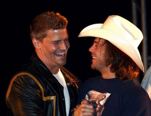 christian kane and david boreanz.. shared on tumblr.. This ...
