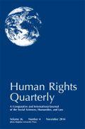 Human Rights Quarterly http://muse.jhu.edu/journals/human_rights_quarterly/