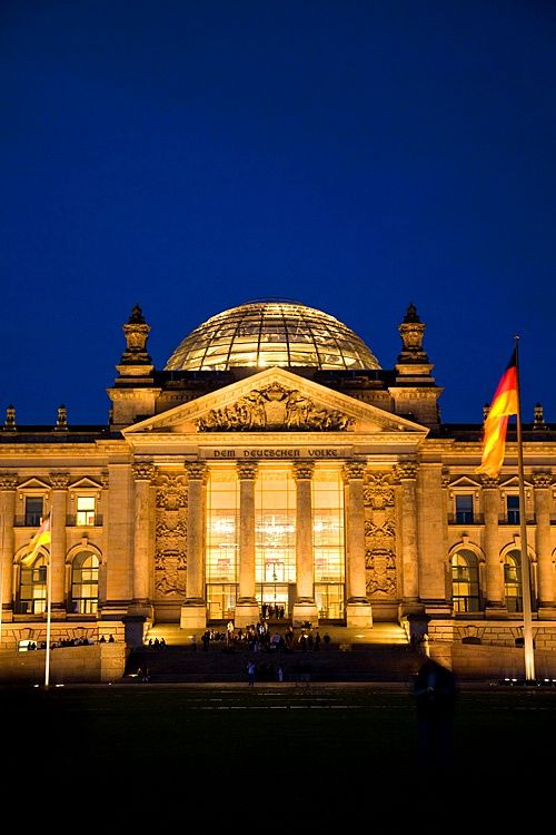 The Reichstag, Berlin Parliament, Berlin, Germany