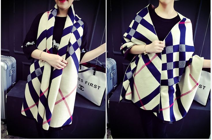 Burberry AAA two-sided pashm Scarf 016