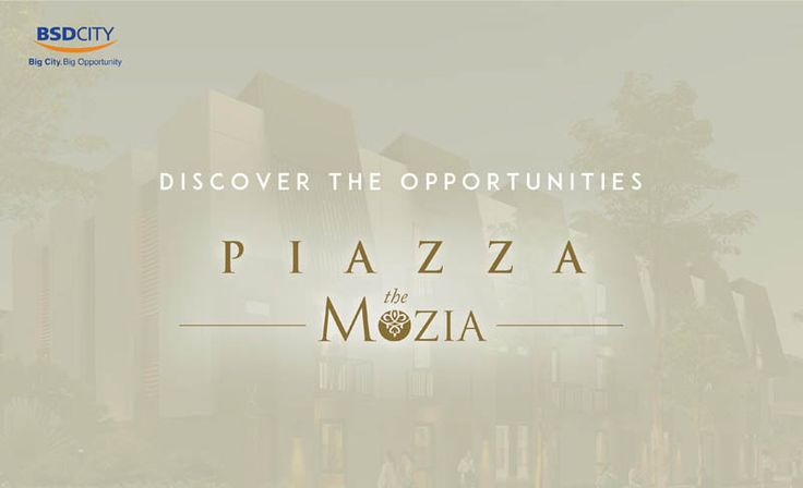 Cluster Piazza The Mozia BSD