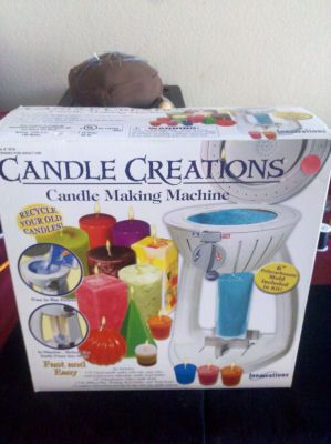 Candle Creations Candle Making Machine in Thrifty_Tiffys' Garage Sale in Avondale , AZ for $10.00. Never been used and will be perfect for personalizing your candle creations