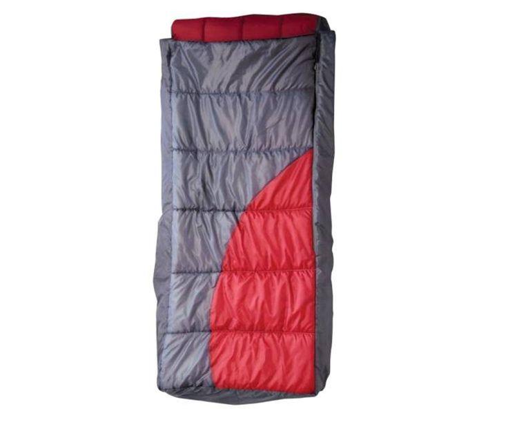 Matelas Gonflable Camping 1 personne - Dimensions 75x180, 2 fonctions en 1 : sac de couchage et matelas. Idéal pour le camping #MatelasGonflable #MatelasCamping