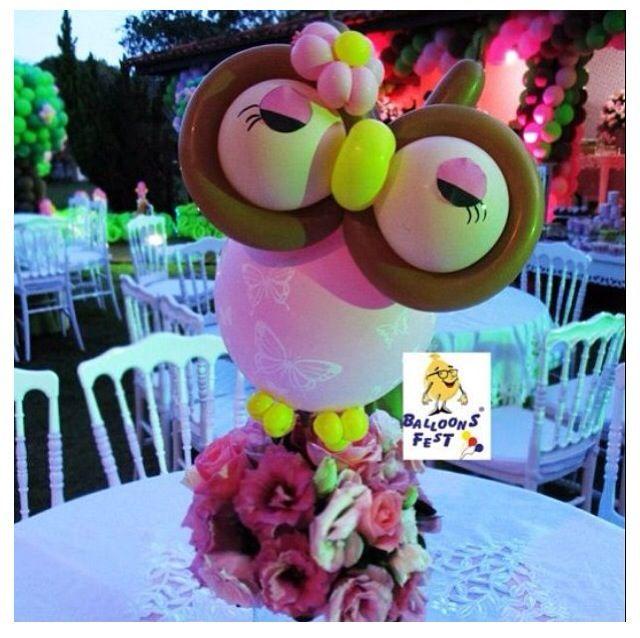 Best owl balloons ideas on pinterest themed
