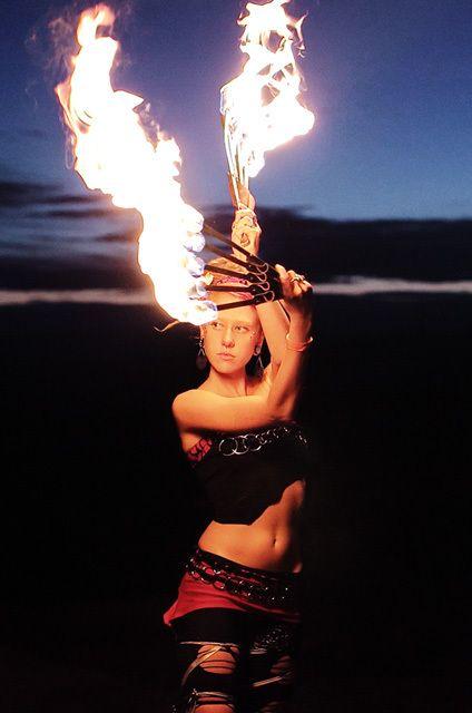 Elements ❧ Fire ❧ fire dancer