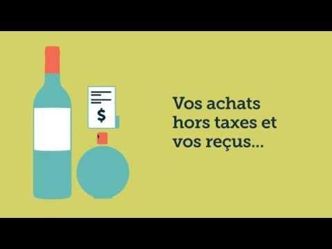Voyager avec des achats hors taxes