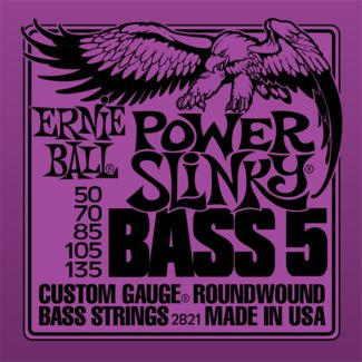 Ernie Ball Slinky Series Bass Guitar Strings