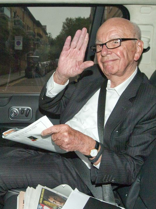 What does Rupert Murdoch own? A little bit of everything. His British tabloids promoted Brexit, his US American media promotes Trump as presidential candidate.
