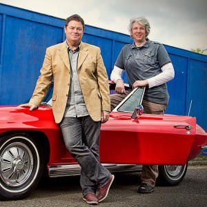 Wheeler Dealers   Velocity. I just love Edd. His hair and face. Adorable! FYI Edd is the tall bloke standing behind the door.
