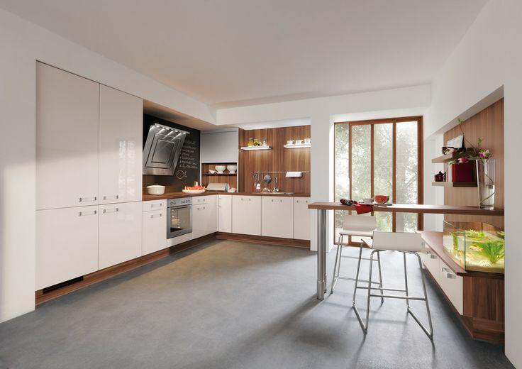 Idealna wysokość blatu i zlewozmywaka, gwarantująca wygodę podczas - eckbank kleine küche