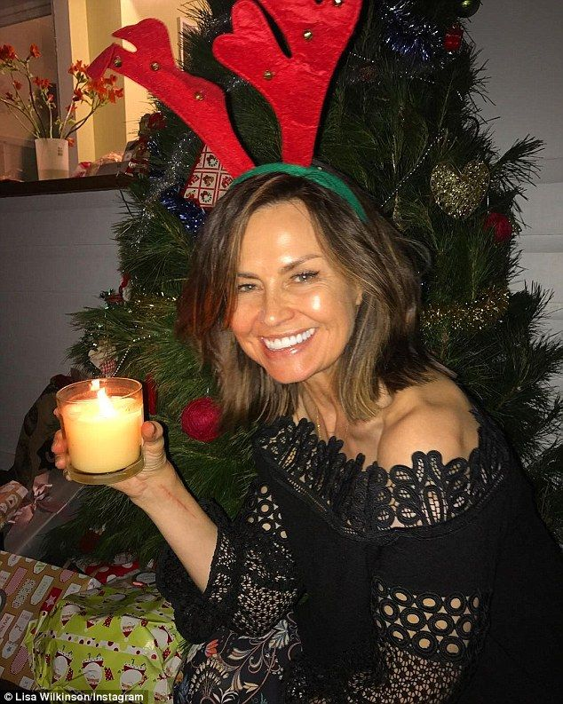 Lisa Wilkinson and her family celebrate Christmas | Daily Mail Online