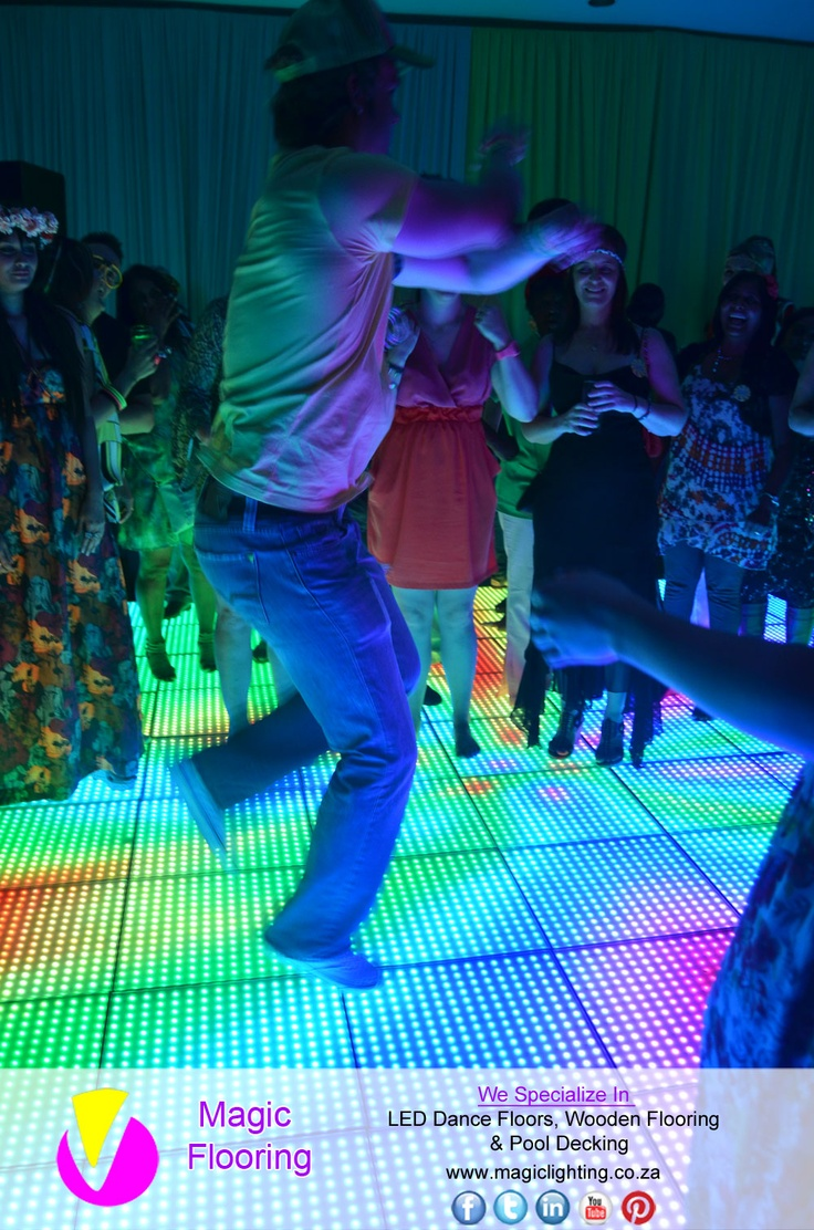 LIKE - TAG - SHARE 2013-05-05   LED Dance Floor   Image Copyright of Magic Flooring   For info contact Magic Lighting on   +27 31 462 9473 / +27 824 430 321