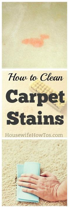 Howo Clean Carpet Stains - Grease, paint, pets, food, nail polish and more | #carpetstains #flooringcare #carpet #carpeting #cleaning #deepcleaning #stainremoval #springcleaning|