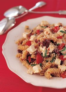 Barefoot Contessa's pasta w/sun-dried tomatoes - one of my favorite recipes!