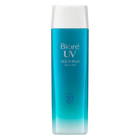 KAO Biore Aquarich Watery Gel — санскрин с максимальной защитой, увеличенная упаковка по супер цене — Melon Panda Beauty Shop