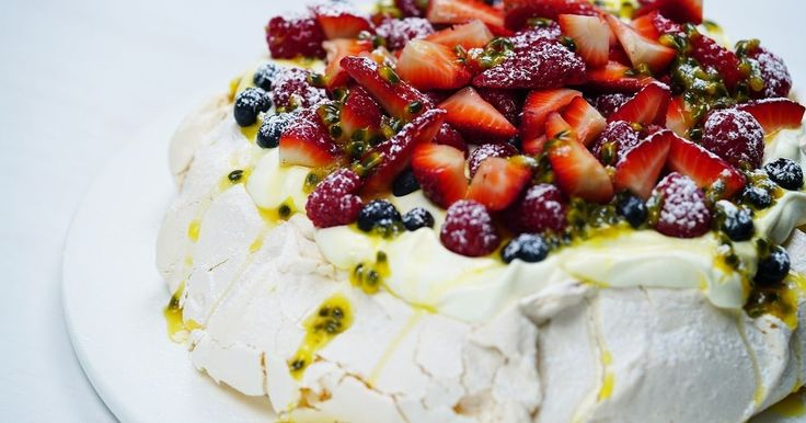 Impress your friends and family with this show-stopper pavlova.