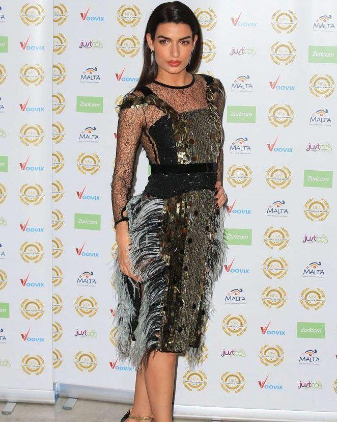 Tonia Sotiropoulou 2017 National Film Awards in London #wwceleb #ff #instafollow #l4l