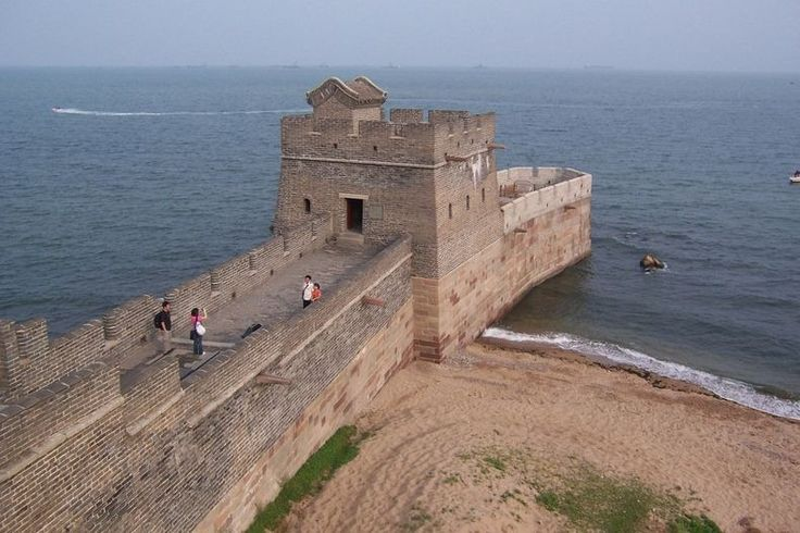 old dragon s head where the great wall of china meets the on the great wall of china id=91667