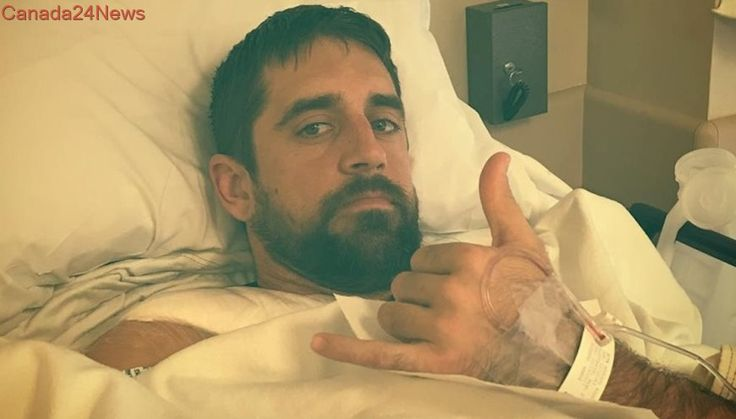 Aaron Rodgers says surgery on collarbone went well