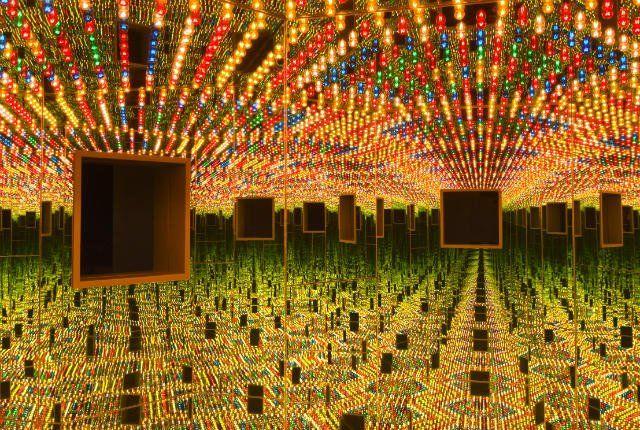 Infinity Mirrors by Yayoi Kusama ~ Mental Floss