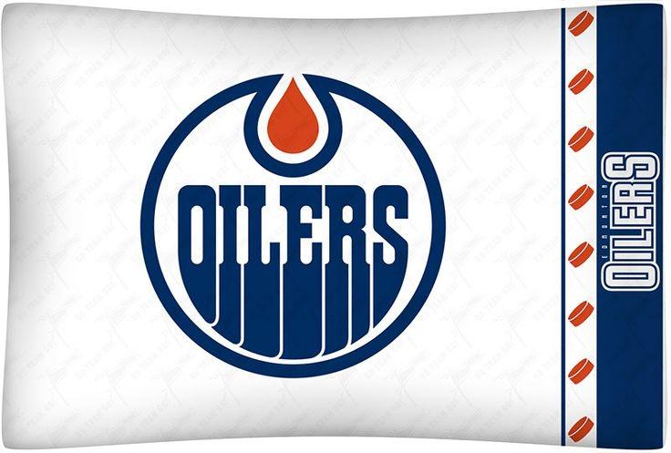 Edmonton Oilers NHL Standard Pillow Case/Cover