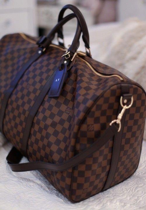 c780ee728042 Louis Vuitton Keepall Damier duffle bag - handbag