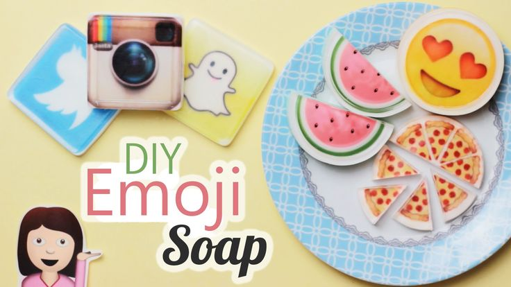 Diy Squishy Soap : DIY: Emoji Soap - Easy! How to Melt & Pour Soap using Pictures - Customi... Soap Pinterest ...