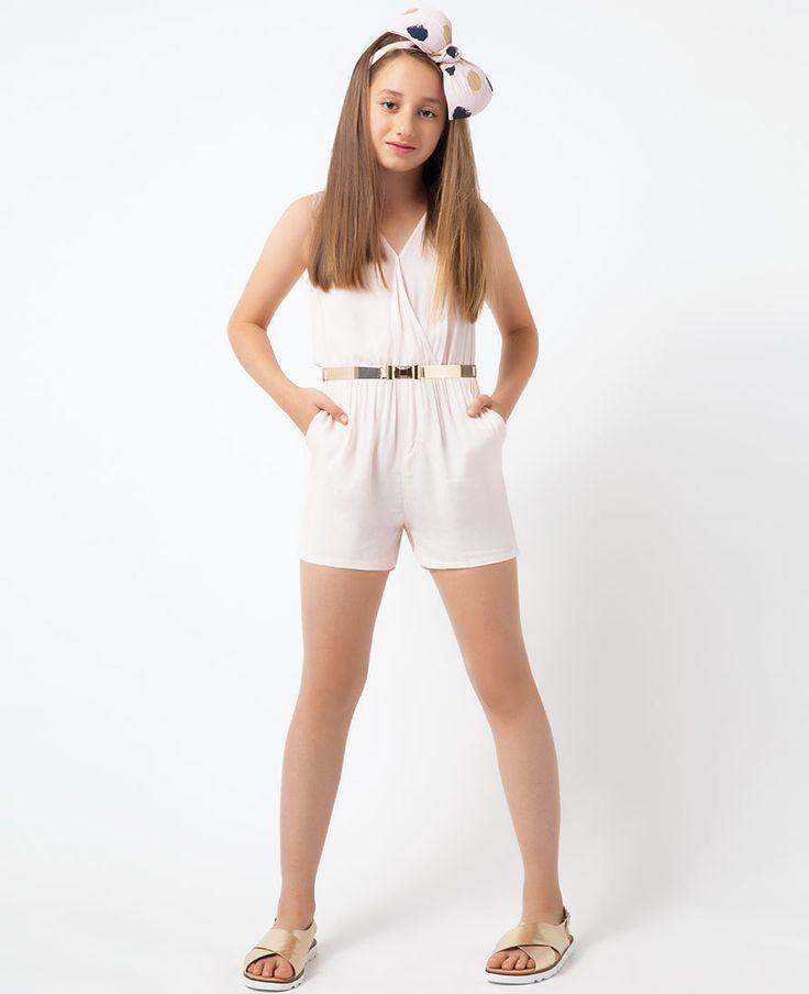 Wrap Playsuit - Bardot Junior
