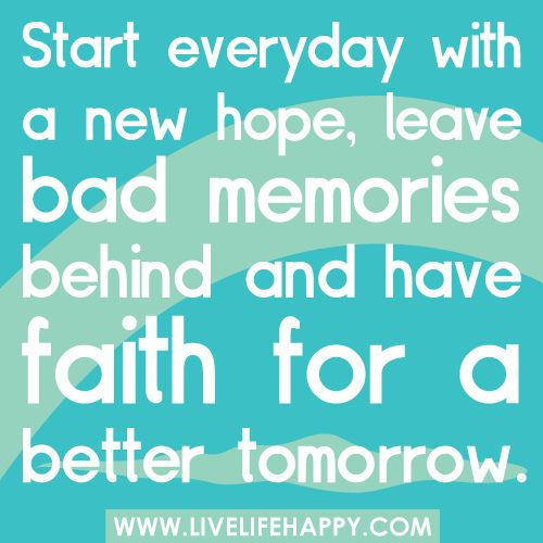 Start Everyday With a New Hope