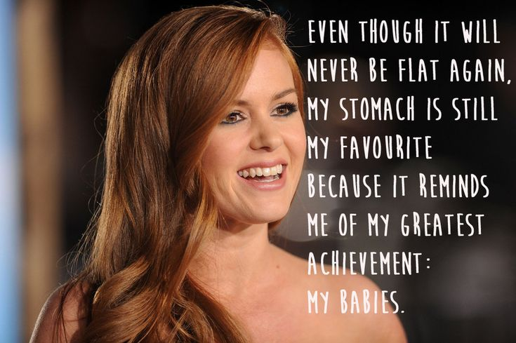 29 celeb quotes to make you feel better about your body. LOVE these! & love Isla Fisher.