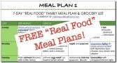 100 days of REAL FOOD...no processed food.  Gotta try!