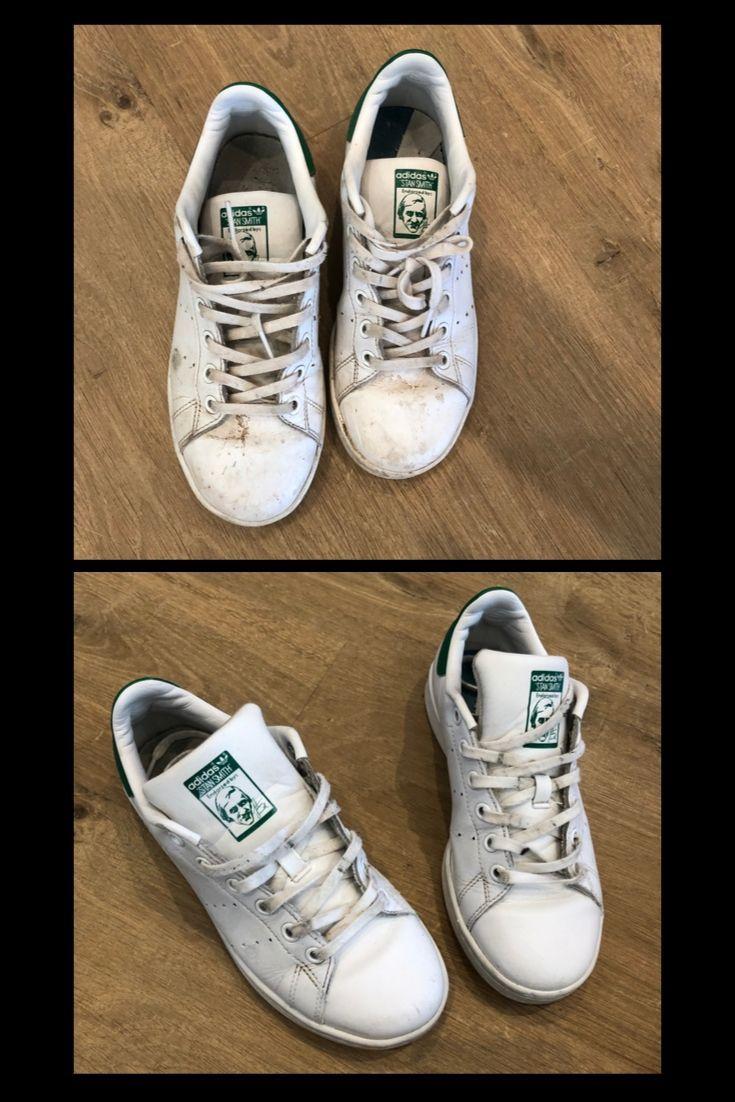 Retrouver la blancheur de ses chaussures c'est possible