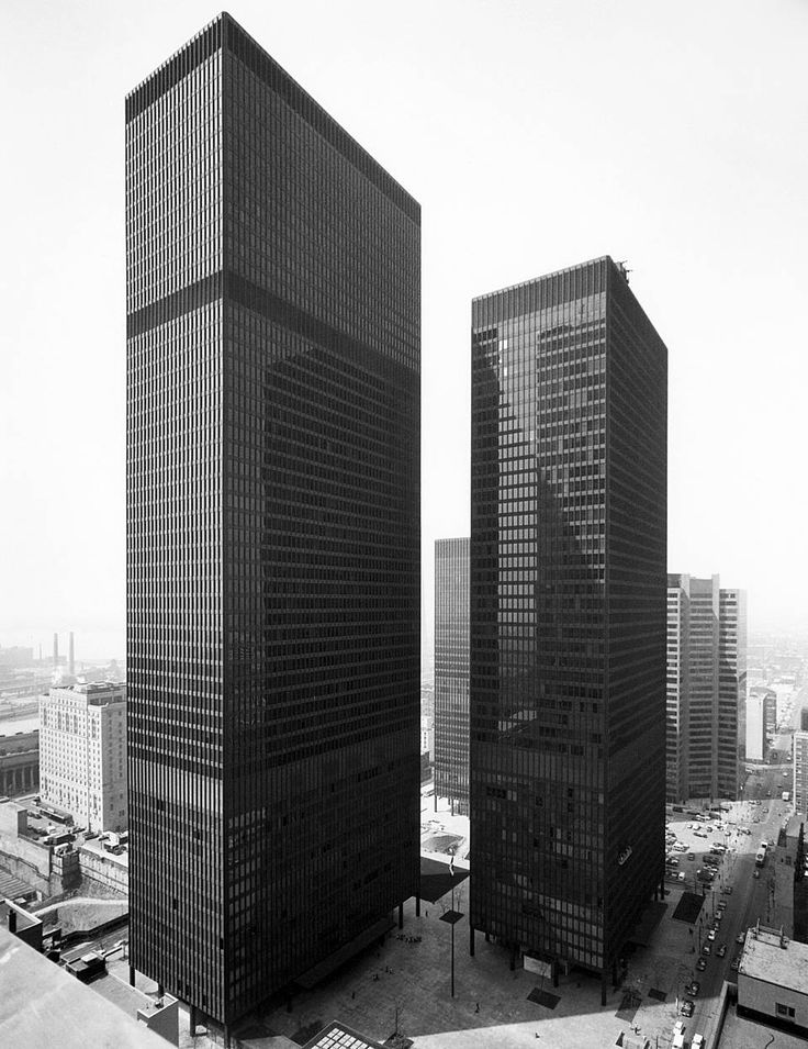 Moment in Time: TD Centre Opens in Toronto - The Globe and Mail