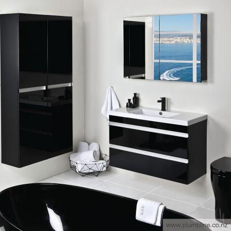 Duo 1000 Vanity Centre Basin - Bathroom Furniture - Bathroom