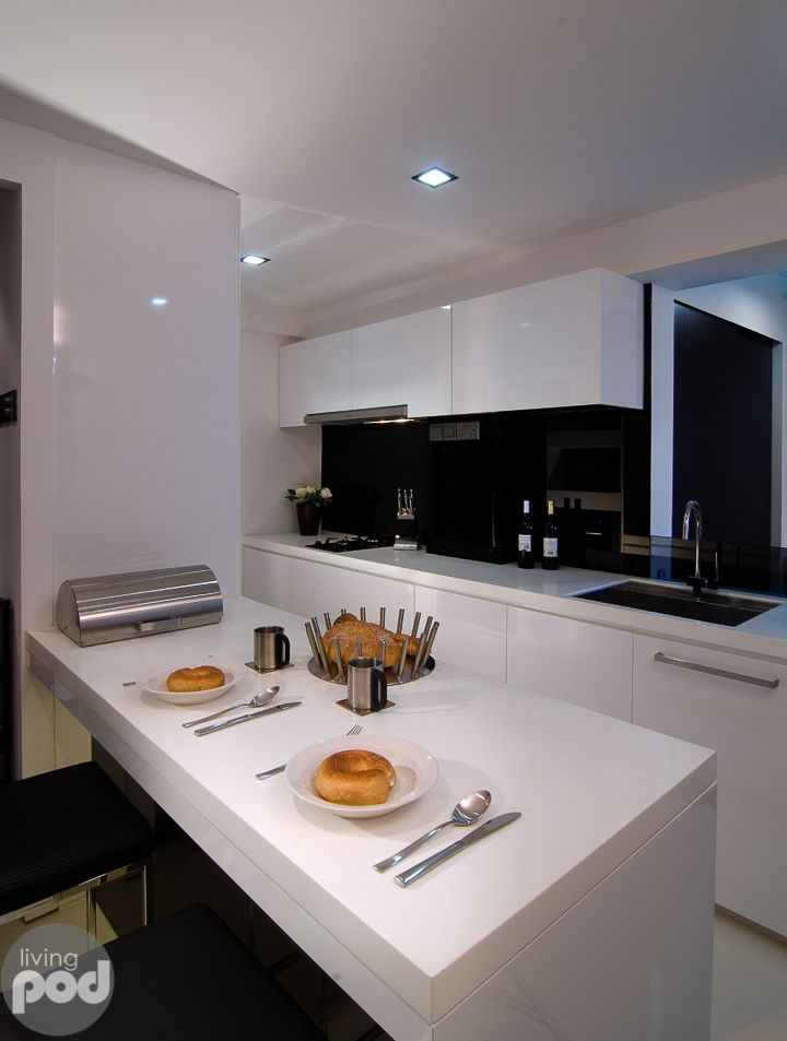 4 room HDB Apartment Kitchen | Interior Designs