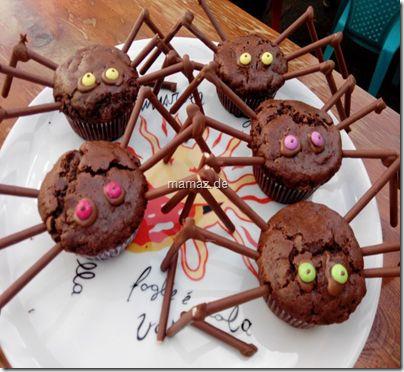 Rezept Muffin-Spinnen für den Kindergeburtstag