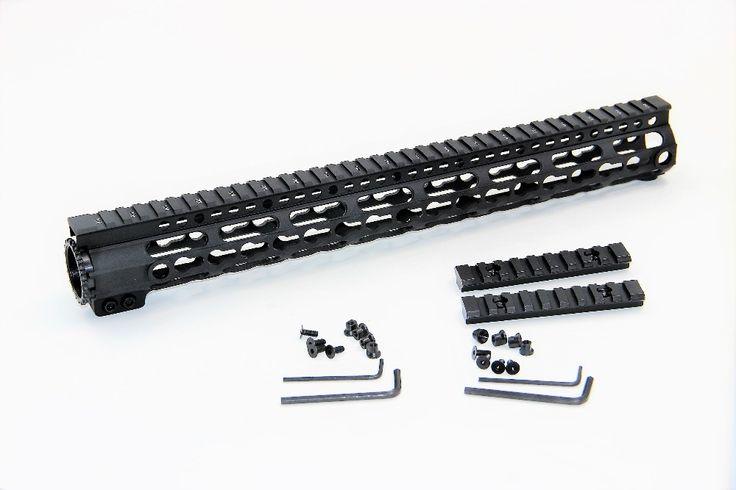 "Light Weight 15"" Aluminum Quad Rail 12 inch Float Handguard Picatinny Quad Rail for AEG M4 M16 AR15 For Pistola Guns  #Affiliate"