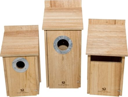 Best Bird Houses Feeders Images On Pinterest Bird Houses - Cool wooden bird house for apartment inhabitants brirdhouse by vlaemsch